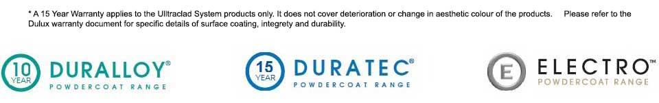 Dulux powdercoating logos